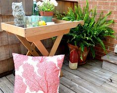 Our Back Deck and a Goodwill Find | CHATFIELD COURT