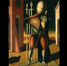 El Trovador de Giorgio de Chirico