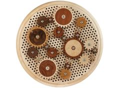 Round Cog Pinion Puzzle, Wooden Gears, Art, Design