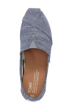 There are so many ways to give back.  TOMS 'Classic - Chambray' Slip-On (Women)