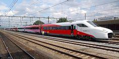 Dutch Highspeed Train FYRA from AnsaldoBreda