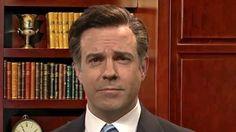 Jason Sudeikis brings his Mitt Romney impression back to SNL...: Jason Sudeikis brings his Mitt Romney impression back to SNL #SNL… #SNL