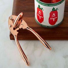 Copper Can Opener #williamssonoma