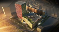 Candle Tower Luxury Hotel, Mall and Residences, Governatorato di Erbil, 2012 - Lombardini22