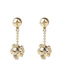 New Alexis Bittar Asteria Nova Sputnik Chain Drop Earrings online - Buytopbrands Gold Drop Earrings, Diamond Pendant Necklace, Chandelier Earrings, Women Accessories, Jewelry Accessories, Shop Alexis, Alexis Bittar, Link Bracelets, Fashion Jewelry