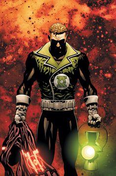 Guy Gardner, Green Lantern by Scott Clark