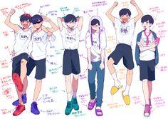 Image about osomatsu san in ᴏsᴏᴍᴀᴛsᴜ-sᴀɴ by ad astra Osomatsu San Doujinshi, Ichimatsu, Anime Sexy, Pose, Otaku, Anime Art, Brother, Character Design, Fandoms