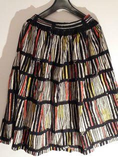 Vintage 1950s wide skirt
