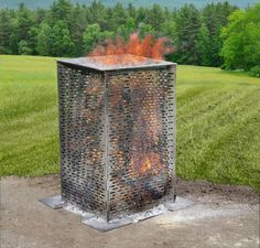 DR Power Equipment today introduced the BurnCage™, a new home and garden incinerator that eliminates all the shortcomings of burning in a traditional burn barrel. Shed Floor Plans, Shed Plans 12x16, Free Shed Plans, Outdoor Sheds, Outdoor Gardens, Burn Barrel, Bbq Shed, Yard Crashers, Run In Shed