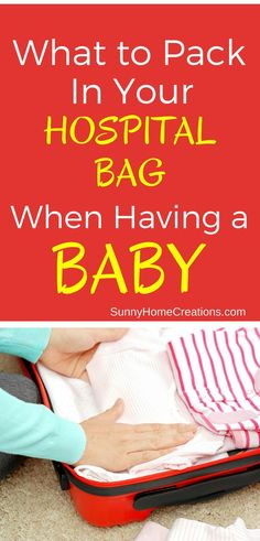 What to pack in your hospital bag when having a baby.  It's so hard to know what you will need when packing your hospital bag for labor, especially if you are a first time Mom.  here is a hospital bag list of what I packed and found useful as well as what my friends couldn't live without in their hospital bags.
