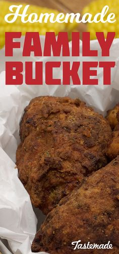 Ever wanted to make a classic family bucket at home? This recipe is here to show you how!