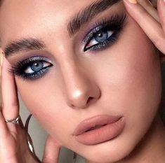 44 Ideas glam makeup looks colorful Makeup Blog, Makeup Geek, Skin Makeup, Makeup Inspo, Makeup Art, Beauty Makeup, Red Lip Makeup, Glitter Makeup, Makeup Ideas