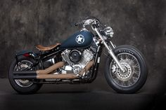 YAMAHA V-STAR 1100 (DRAGSTAR) - Blue Collar Bobbers