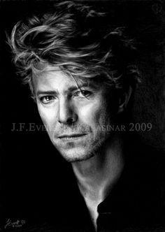 David Bowie VII by Kalasinar.deviantart.com on @DeviantArt