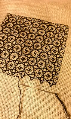 modern style embroidery