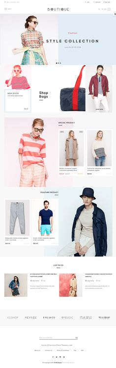 ST Boutique is a tidy and responsive Shopify theme suitable for any kind of boutique, clothes #store, #Fashion Shop, makeup products or similar #websites. Download Now!