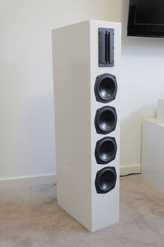 Designer: Doublsmm Project Category: Tower Speakers Project Level: Intermediate Project Time: 8-20 Hours Project Cost: $100 – $500 Project Description: Tower speakers with four woofers to pro…