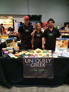 Team #UniquelyGreek had a blast at the #NYC Fancy Food show!