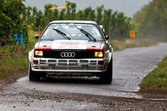 Audi Quattro rally car