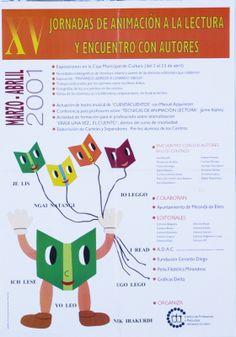 Jornadas de animación a la lectura y encuentro con autores: marzo-abril 2001 (2001)