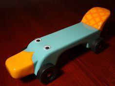 Platypus AWANA derby design! Hilarious