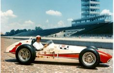 Indy 500 winner 1961: A.J. Foyt  Starting Position: 7  Race Time: 3:35:37.490  Chassis/engine: Trevis/Offy