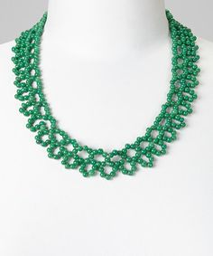 Another great find on #zulily! Green Cameron Necklace #zulilyfinds