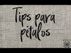 TIPS PARA RELLENAR PÉTALOS - YouTube Basic Embroidery Stitches, Embroidery For Beginners, Mexican Embroidery, Sewing Projects, Crochet, Tips, Youtube, Embroidery Stitches, Cross Stitch
