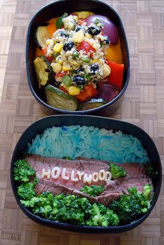 Hollywood bento.