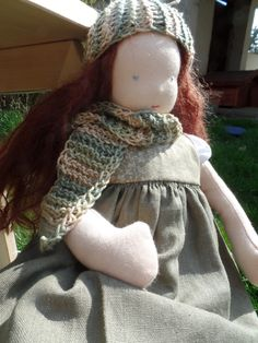 Waldorf Doll (girl) by LittleDollsBySzandra on Etsy