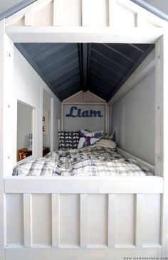 DIY Cabin Bed - The House of Wood
