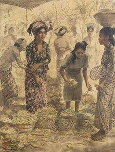 Huang Fong - Penjual Buah (1984)