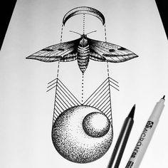 Planets, Moon, Moth    Inspiration   Andrei Svetov, Russia