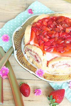 » Erdbeer Rhabarber Törtchen - LadyApplePie