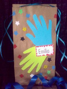 Bolsas de papel craft.