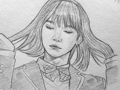 I really want to get better at drawing just to draw a bunch of BTS fanart Easy Pencil Drawings, Kpop Drawings, Art Du Croquis, Fanart Bts, Pinterest Instagram, Min Yoonji, Fan Art, Drawing Sketches, Art Inspo