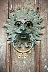 Knocker on Durham Cathedral. I've knocked this thing as I was told in past history, hunted people knocked here for asylum