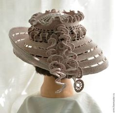 Шляпы ручной работы. Шляпа