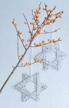 DIY Christmas decoration star