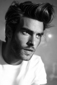 Jon Kortajarena, Spanish model, b. 1984 - it takes a lot to look this good with such a pretentious hairdo!