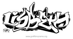 "Coloring Graffiti Letters Luxury Lisbeth"" A Graffiti Peice Of the Name ""lisbeth"" Graffiti Names, Graffiti Lettering, Coloring Books, Coloring Pages, Street Culture, First Names, Outline, Celtic, Hip Hop"