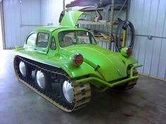 Just when you thought the old VW Beetle couldn't get tougher