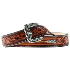 Ariat Mens Studded Arrow Belt: Made with genuine leather. Studs accent an arrow pattern on belt. Leather Belts, Brown Leather, Men's Belts, Arrow Pattern, Cowboy Outfits, Arrow Design, Cowgirl Boots, Western Wear, Studs