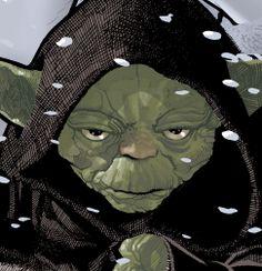 Yoda Pictures, Images and Star Wars Yoda Fan Art Star Wars Fan Art, Star Wars Love, Star Wars Jedi, Starwars, Adam Hughes, Sith, Reine Amidala, Mestre Splinter, Kit Fisto