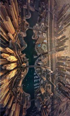 Twitter / NaturPictures: Vista aérea de la Marina de ...