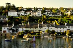 South Devon, England - well that's a perfect town if I've ever seen one