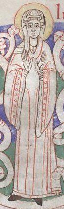 Stuttgart WLB, cod. bibl. fol. 56, f. 30 origine : abbaye de Zwiefalten, 1125-1130