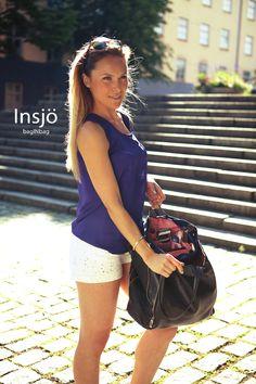 Summer is not over yet! Enjoy summer with a well organized handbag ; Handbag Organization, Enjoy Summer, Wellness, In This Moment, Purse Organization, Organizing Bags
