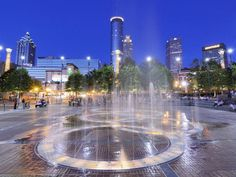 Six Flags Over Georgia, Turner Field, the SkyView Ferris wheel, Georgia Aquarium and Centennial Olympic Park are just a few reasons why you should visit the ATL.