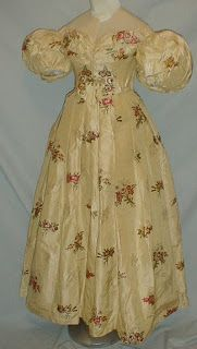 Ball gown  - c 1830s